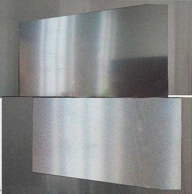 """o.T."", 200x200 cm, Aluminium, 2012"