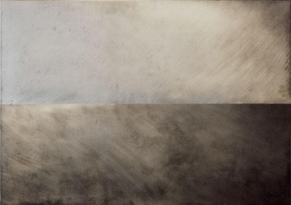 """""""horizont #008"""", 2001, 140x100x5cm, Aluminium"""