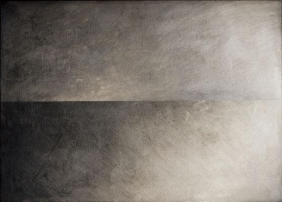 """""""horizont #022"""", 2001, 100x70x5cm, Aluminium"""