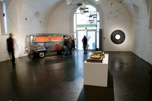 """""""TONSPUR_expanded: Vom Klang der Kunst"""", quartier 21/MQ, 2008"""