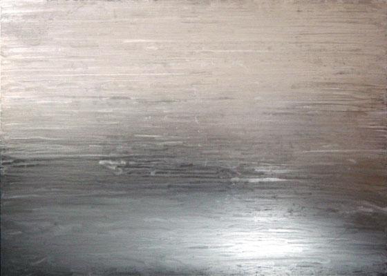 """""""o.T."""", 2005, 125x90cm, Stahlblech geschliffen"""