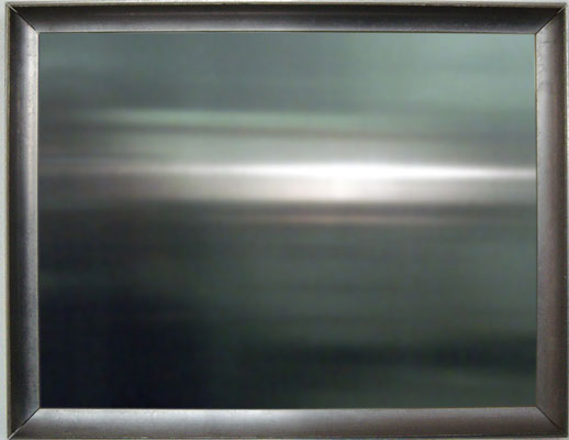 """o.T."", 2006, 43x33cm, Aluminium"