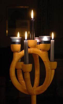 Leuchter 7 Lichter