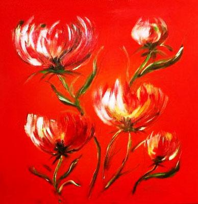 die roten Blumen