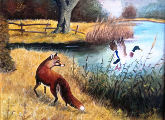 Fuchs und Ente