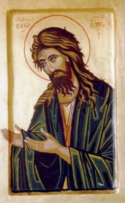 Hl.Johannes als Vorläufer