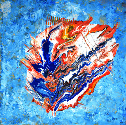 Farbenexplosion