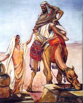 Kamelbrunnen in Nordafrika