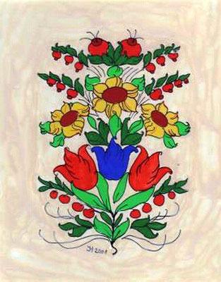 Blumenormament