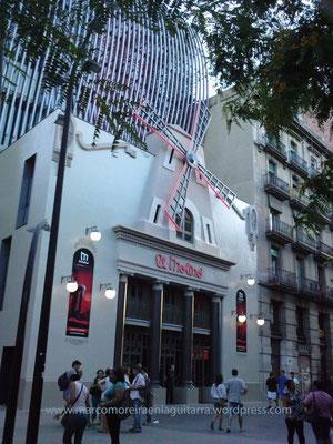 Sala El Molino de Barcelona - Clases de Guitarra Barcelona