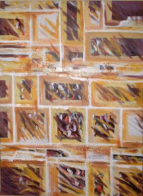 les baies- peinture contemporaine de Sylvie Boulet