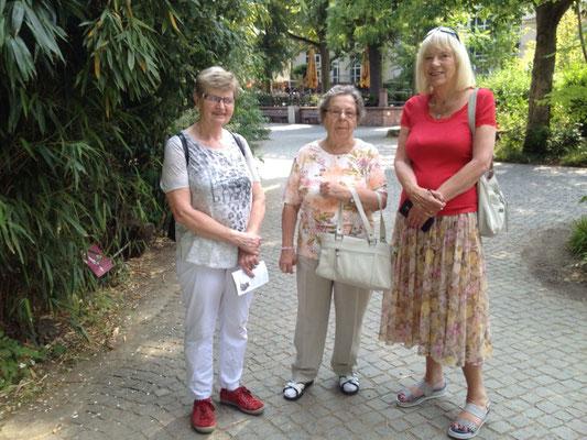 Beim Besuch im Frankfurter Zoo