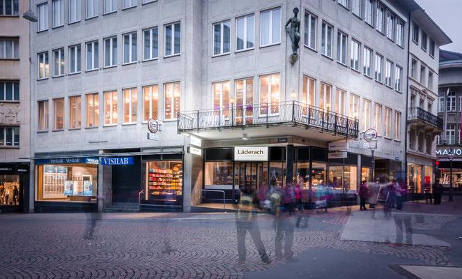 Standort an der Weggisstrasse 1 in Luzern.