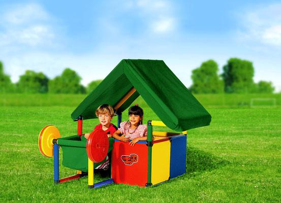 QUADRO BASIC Babyhäuschen Spielhaus HomeActionKit