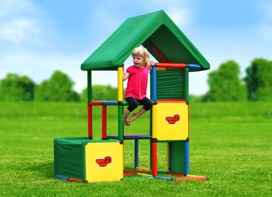 QUADRO UNIVERSAL Klettergerüst Spielhaus