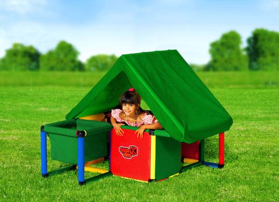 QUADRO STARTER Babyhäuschen Spielhaus HomeActionKit