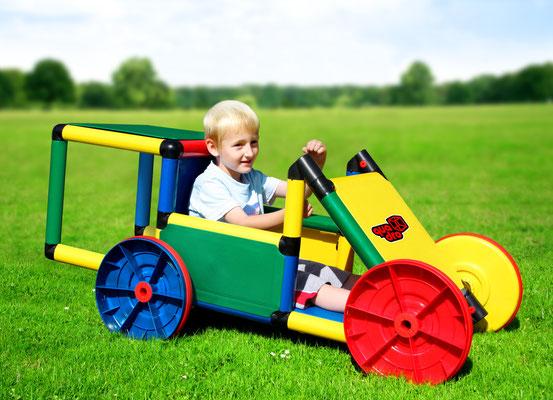 QUADRO BASIC Spielgerüst Rennwagen
