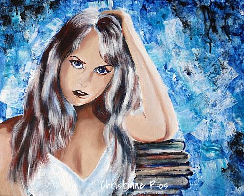Porträt - Acryl - 40 X 50 cm
