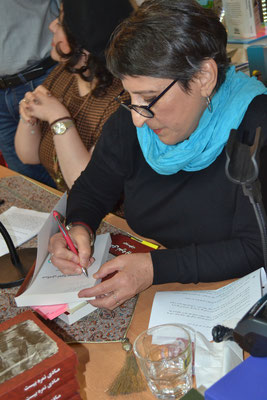 Maryam Setwat Autogramm