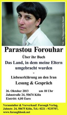 Das Land, in dem meine Eltern umgebracht wurden - Parastou Forouhar