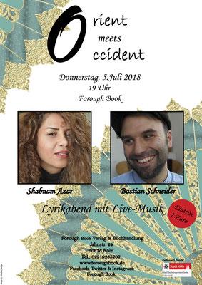 Orient meets Occident - Shabnam Azar & Bastian Schneider