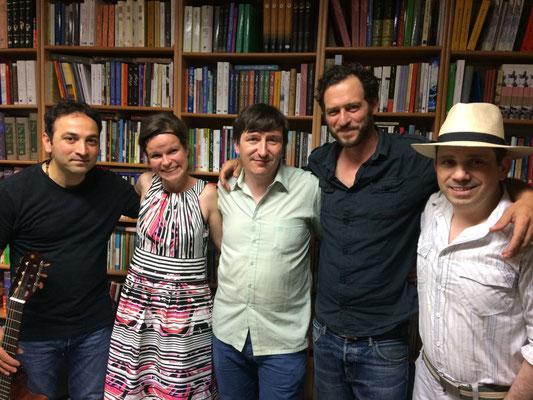 Reza, Gundula, Adrian, Christoph, Roberto