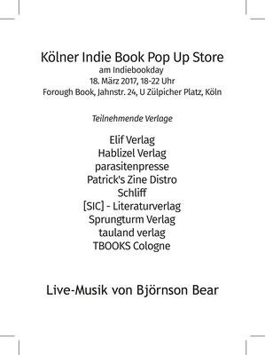 #indiebookday  2017