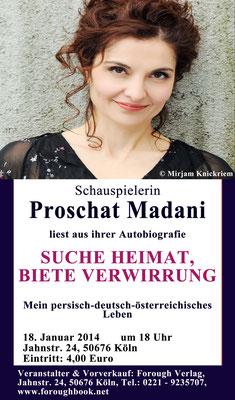 Suche Heimat, biete Verwirrung - Proschat Madani