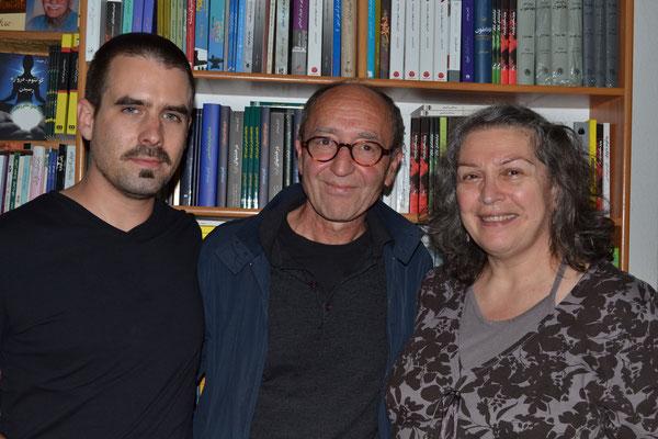 Gerrit Wustmann, Dogan Akhanli, Sophia