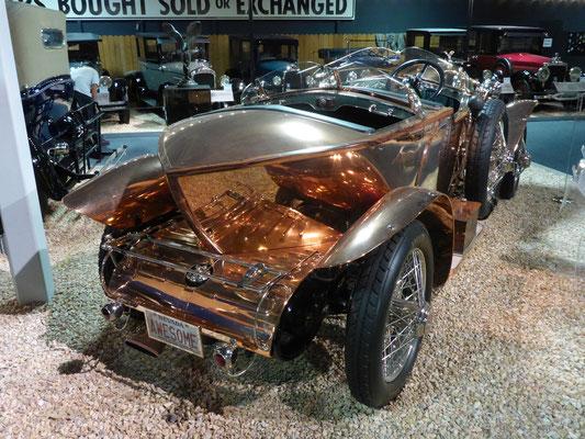 Rolls Royce 1921 mit einzigartiger Karosserie aus Kupfer!