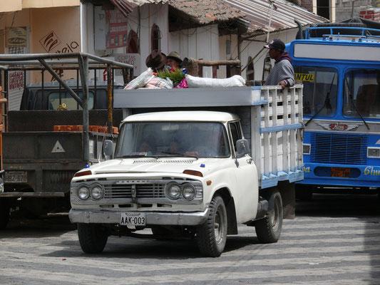 Ecuador 2009: Toyota aus den 70er Jahren
