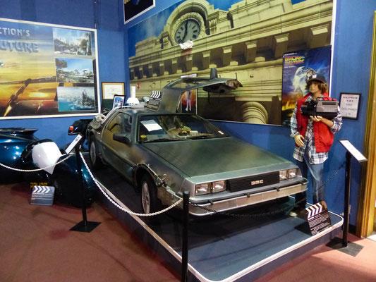 Zurück in die Zukunft, mit einem Edelstahl-Coupe von DeLorean