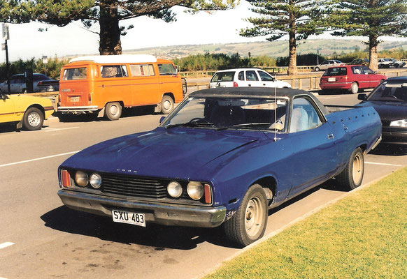 Australien: Ford Falcon Ute (=australische Pick-Up Version)
