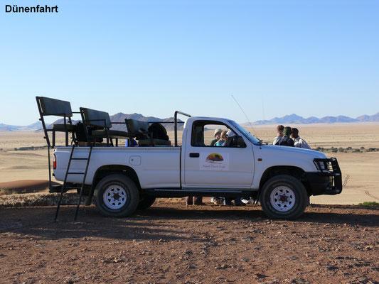 Namibia 2007: Toyota Hilux als Ausflugswagen