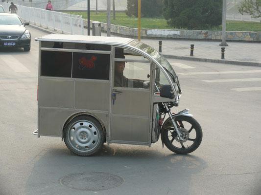 """CHINA: """"Luxus""""-Variante, fast ein Auto"""