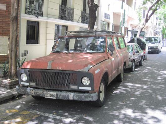 Argentinien 2013: Chevrolet Veraneio aus brasiliansicher Produktion