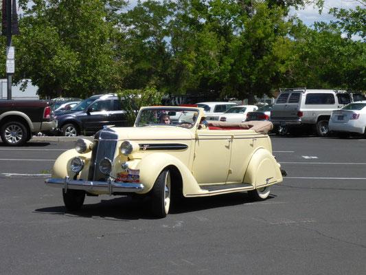 USA 2015: 36er Chrysler Deluxe Eight als Phaeton, schon zur Entstehungszeit eine echte Rarität