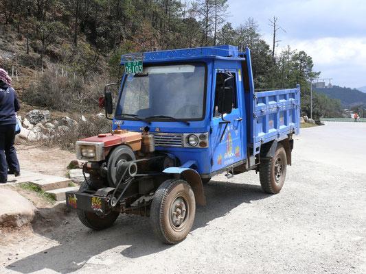 CHINA: Dieses Vehikel wird in größerer Serie hergestellt, ist in ganz Südchina anzutreffen