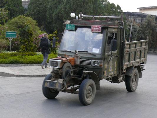 CHINA: und das Ganze in voller Fahrt