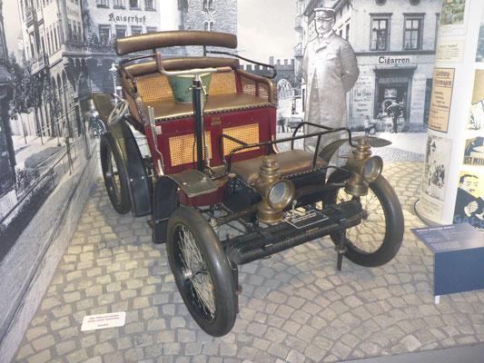 Wartburg Modell 2 1899, Besitzer: Automobilmuseum Eisenach