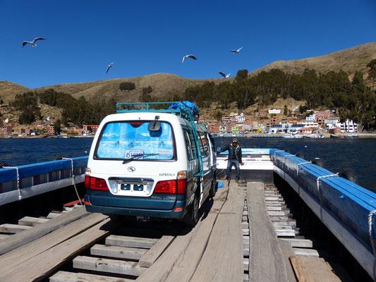 Dies ist keine Notlösung, die Fähren wurden in kleiner Serie gebaut und verrichten seit Jahren Ihren Dienst!