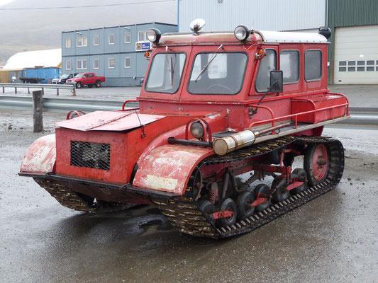 Spitzbergen/Norwegen 2015 - der fährt bei jedem Wetter....