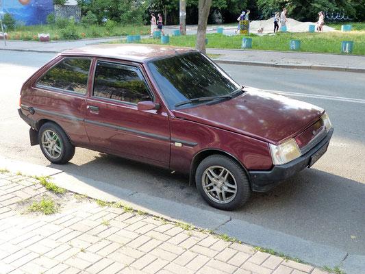 Tavria Nova - hergestellt 1987-2011 in der Ukraine im Saproshje-Werk, hier das Modell ab 1999 (Ukraine 2019)