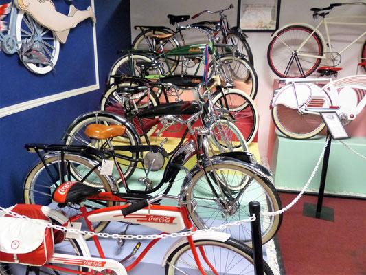 Sammlung von Schwinn-Fahrrädern