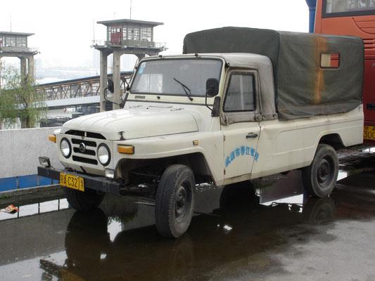 """CHINA: """"Beijing""""-Jeep aus heimischer Produktion"""