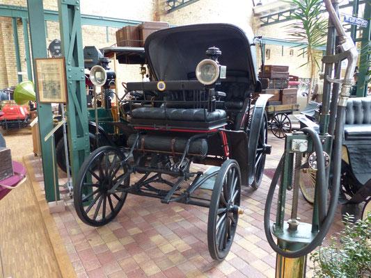Benz Victoria 1893 im Benz-Museum Ladenburg