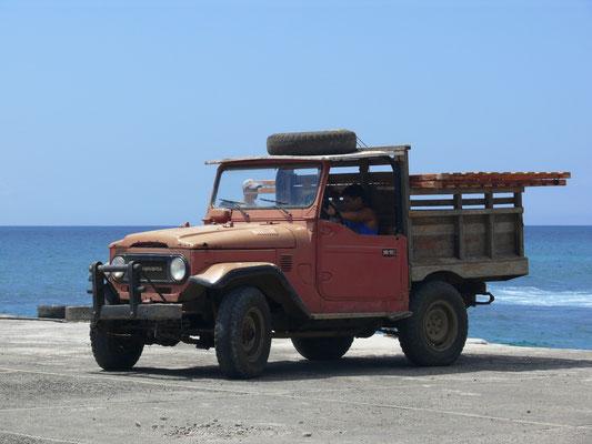 Galapagos (Ecuador) 2009: Toyota BJ 40