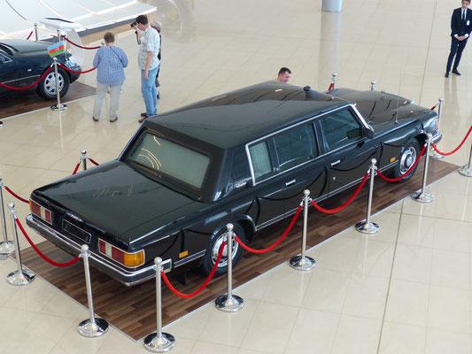 ...ausgestellt im Heydar-Aliyev-Museum in Baku (Aserbeidschan)