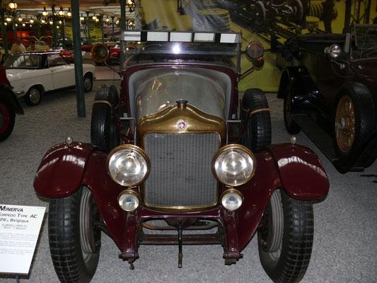 belgischer Minerva mit Schiebermotor