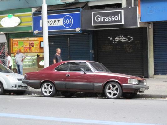 Uruguay 2013: Chevrolet Commodoro (Rekord-C Ableger) aus brasilianischer Produktion
